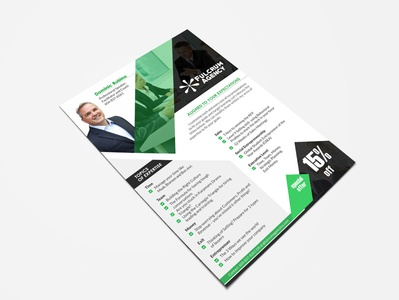 Flyer design handbill one pager leaflet poster brochure print design flyer design flyer