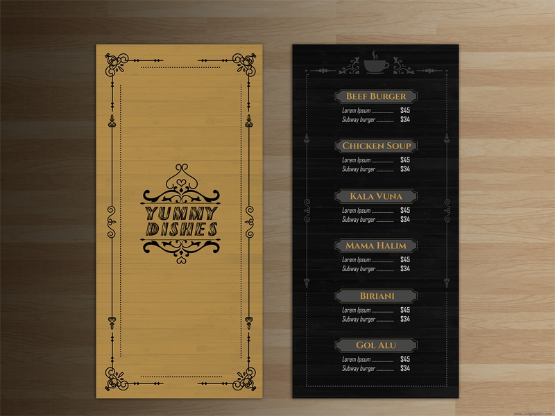 Restaurant menu design restaurant menu restaurant menu bar menu card menu design menu