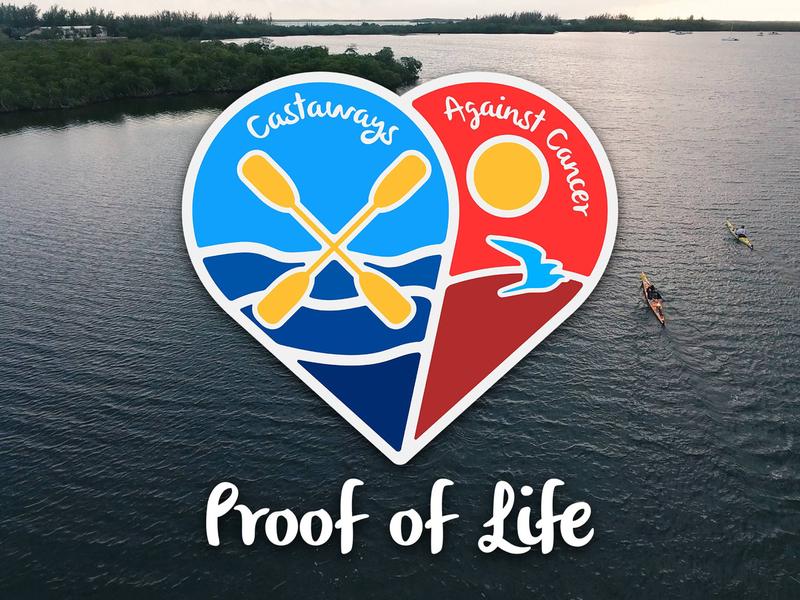 Castaways Against Cancer (2016) 2d 2016 miami key west castaways logo florida kayak life cancer