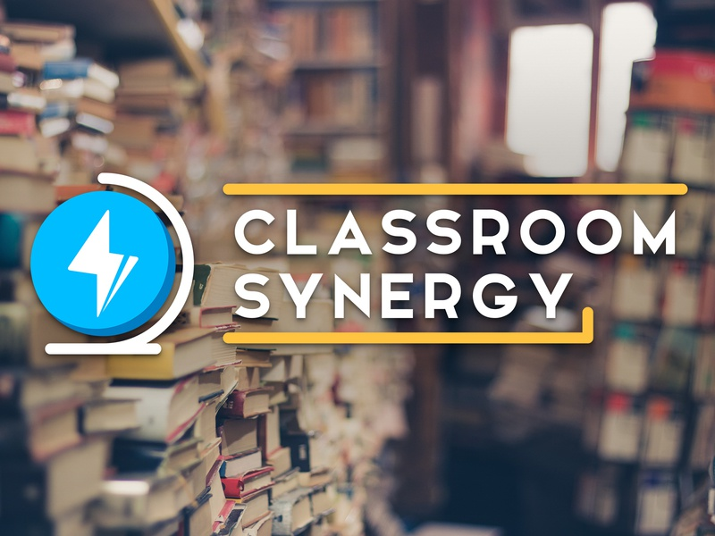 Classroom Synergy 2017 resources sharing learning education logo 2d synergy globe classroom