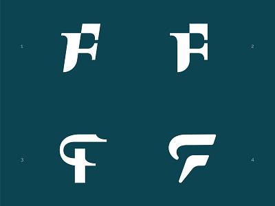 FP Exploration branding typogaphy monogram logo monogram law fp logo