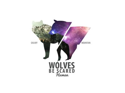 Wolves T-shirt Print