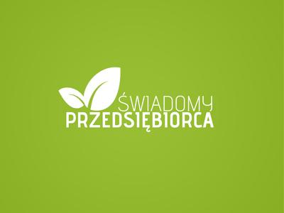 Swiadomy przedsiebiorca eco business coo ecology logo