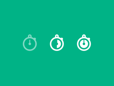 Time-lapse mode for Vine feature ux ui timer countdown vine chronometer icon time lapse