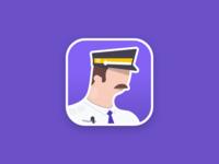 Metro operator app icon