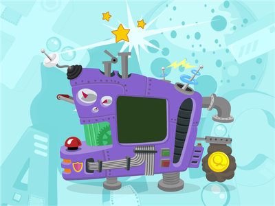 Loader machine squla loader vector dynamic sketch