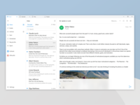 Bringing Outlook for iOS's heritage to Windows