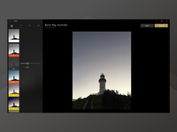 Imagining VSCO forDesktop, Windows - Edit photo