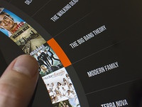iPad Roulette menu
