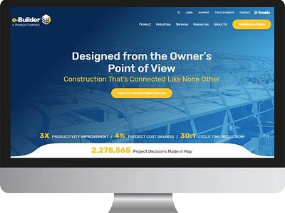e-Builder web illustration logo design