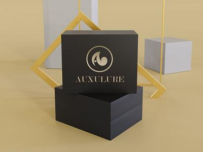 Auxulure Golden Letter A Logo design logo design jewelry logo jewelry luxury elegan golden gold letter a branding logo