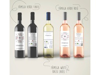 Fâmega wine labels