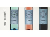 Fâmega wine product photography