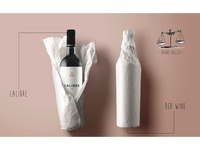 Calibre wine label design