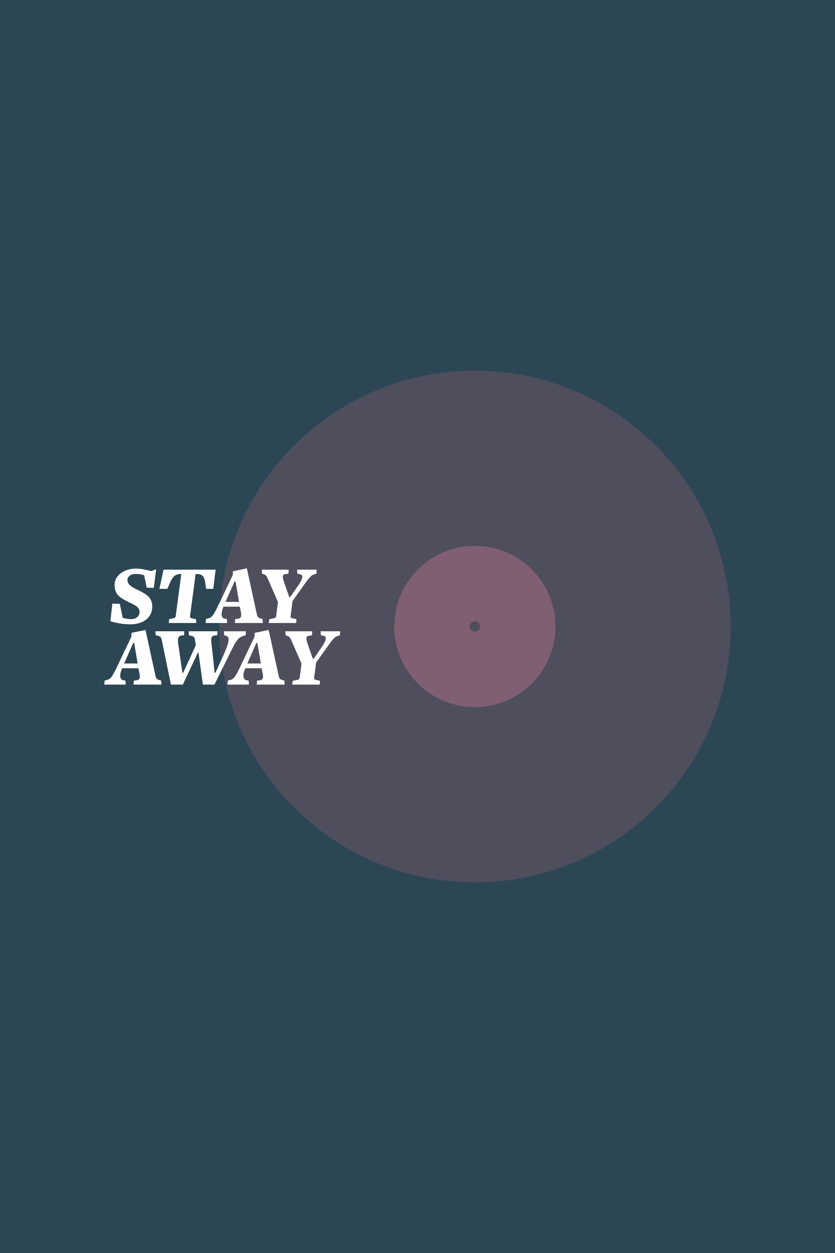 Stay away poster alt 2