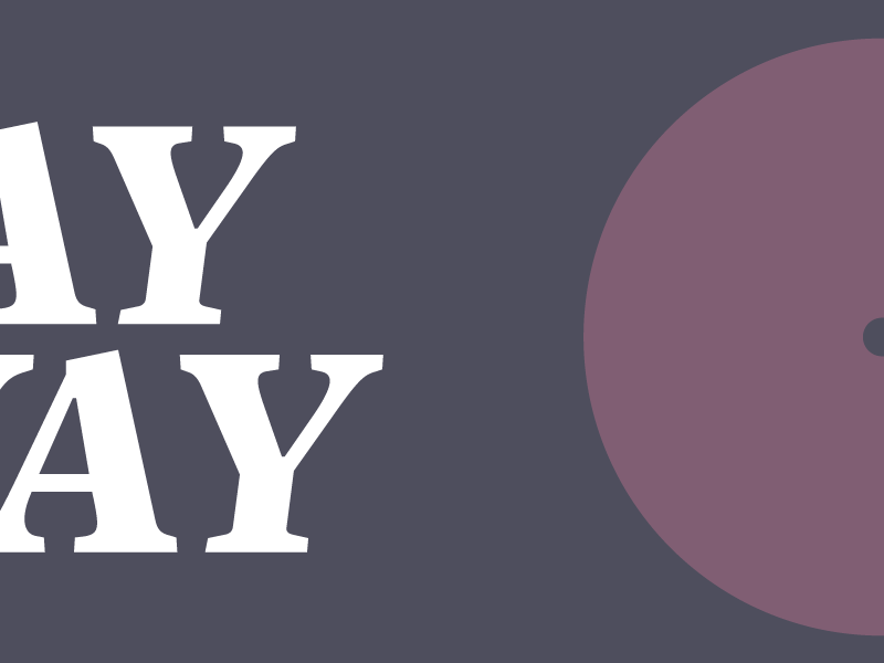 Stay Away Poster Version 2 personal