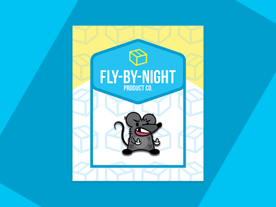 Fly-By-Night Product Co. Pin Packaging