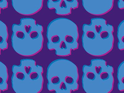 Skull Pattern vector skulls pattern