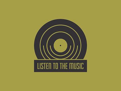 Music Pin #01 minimal records music lapel pins pins