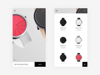 Product App - Anicorn x Order | Sketch Freebie #9. dailyui ressource sketch ui ux clean concept app minimal layout freebie user
