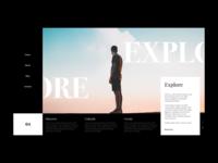 Explore - Header