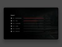 TvOS App - Serie Picker
