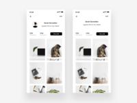User Profile - Redesign