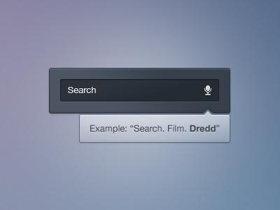 Voice Search voice search conformation basic clean gui psd white blue dark icon