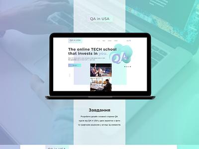 QA in USA web design web design
