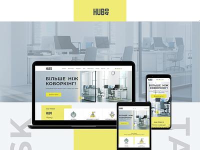 design for covorking adaptive web design website web