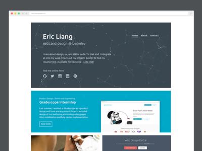 Portfolio site student design ui website portfolio debut