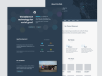 Blueprint Website Redesign