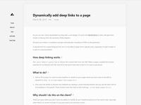 blog - details page