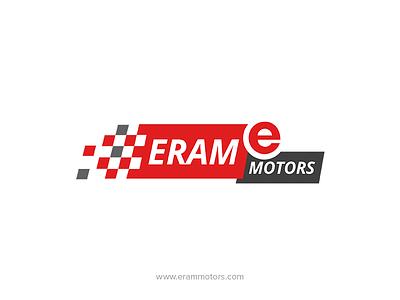 Eram Motors - Logo Design mahindrabranding vehiclelogo fahaddesigns fd india mahindra kerala eram erammotors branding logo design
