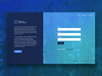 Landing & Login visualdesigner gradient uxdesigner fahadkc fahaddesigns uiux visualdesign login landing