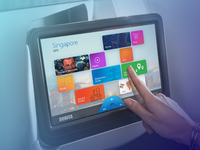 In-Flight Entertainment Graphical User Interface Design