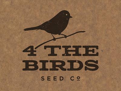 4thebirds food birds bird identity design logos logo