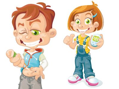 Kids managing Type 1 Diabetes