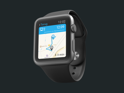 Wearable Travel Companion minimalist android ios watchos watch minimal development react agency uidesign uxui ux apple watch design travel design travel app travel apple watch mockup apple watch