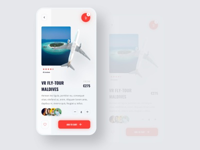 Ticket app ux design mobile app design branding uidesign clean ui web ui typogaphy minimal clean maldives virtual reality mobile shopping mobile design mobile uiux mobile ui mobile app