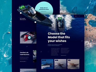 Fast boat platform responsive design microinteraction minimal clean ui uidesign photography branding photography web ux website typography homepage design webdesign design branding ui clean