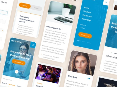 AI recruitment platform artificial intelligence live minimal website custom page builder website builder recruitment agency hubspot form mobile uiux ux uidesign clean ui web ui clean typography branding platform website design