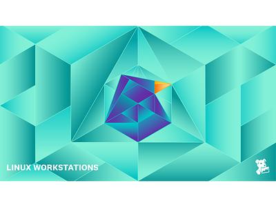 Linux Workstations Desktop Wallpaper