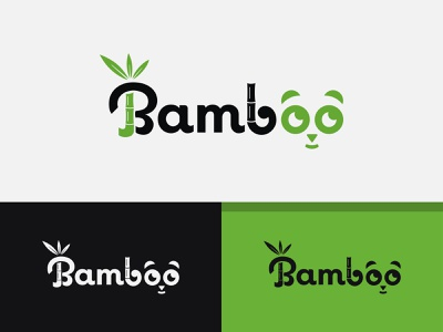 Bamboo Logo Design Panda logochallenge modern logos modern design 3d art 2d illustrator photoshop creative panda logo bamboo logo ui design ux minimalist logo business logo design logo design concept professional logo modern logo logo design branding dribbble