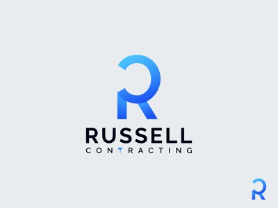 Russell Contracting Logo Design ( R + C Letter Combination ) modern construction logo building logo construction building construction logo contracting logo construction company logo construction logo russell contracting logo