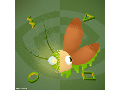 OVERCLOCKING - Nvidia Studio Competition illustration vector design