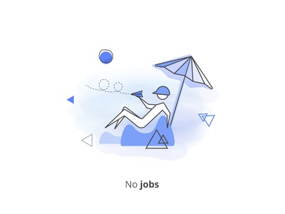 No Jobs Illustration