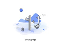 Empty Page Illustartion