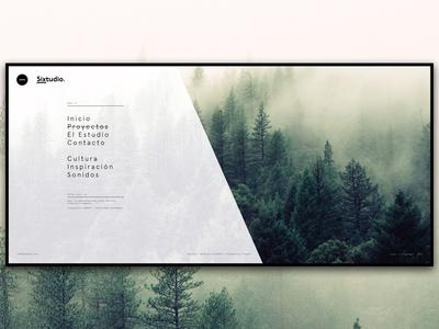 Sixtudio - Web redesign