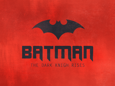 Batman, The Dark Knight Rises - 11 days for the premiere